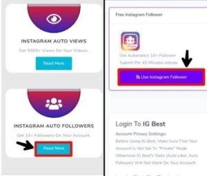 Get Free Instagram real auto followers by malik vasid